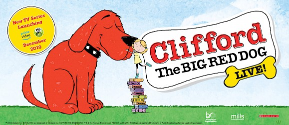 Clifford The Big Red Dog - Live! Image